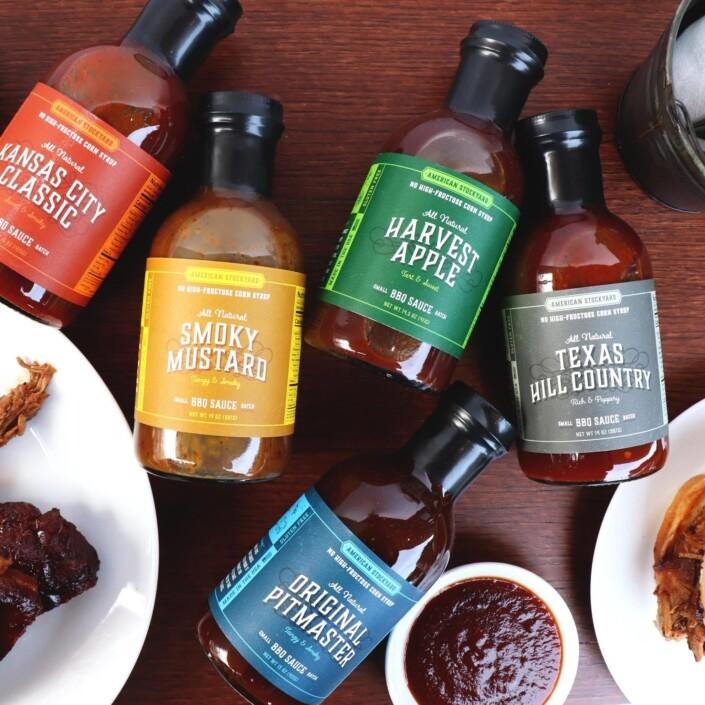 American Stockyard BBQ Sauces
